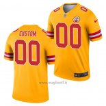 Maglia NFL Legend Kansas City Chiefs Personalizzate Inverted Or
