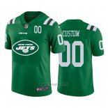 Maglia NFL Limited New York Jets Personalizzate Big Logo Number Verde