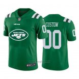 Maglia NFL Limited New York Jets Personalizzate Big Logo Verde