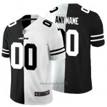 Maglia NFL Limited New York Jets Personalizzate Black White Split