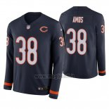 Maglia NFL Therma Manica Lunga Chicago Bears Adrian Amos Blu