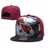 Cappellino Arizona Cardinals 9FIFTY Snapback Nero Rosso