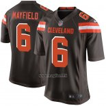 Maglia NFL Game Bambino Cleveland Browns Baker Mayfield Marrone