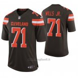 Maglia NFL Game Cleveland Browns 71 Jedrick Wills Jr. 2020 Marronee