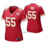 Maglia NFL Game Donna Kansas City Chiefs Dee Ford Rosso