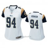 Maglia NFL Game Donna Los Angles Rams A'shawn Robinson Bianco