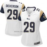 Maglia NFL Game Donna Los Angles Rams Dickerson Bianco