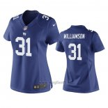 Maglia NFL Game Donna New York Giants Chris Williamson Blu