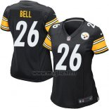 Maglia NFL Game Donna Pittsburgh Steelers Bell Nero