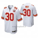 Maglia NFL Game Kansas City Chiefs Charcandrick West Bianco