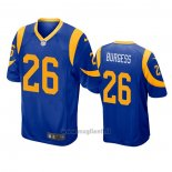 Maglia NFL Game Los Angles Rams 26 Terrell Burgess Blu