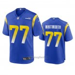 Maglia NFL Game Los Angles Rams Andrew Whitworth 2020 Blu