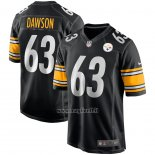 Maglia NFL Game Pittsburgh Steelers Dermontti Dawson Retired Nero