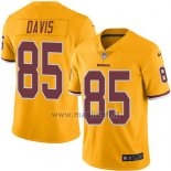 Maglia NFL Legend Washington Redskins Davis Giallo