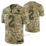 Maglia NFL Limited Arizona Cardinals 2 Andy Lee 2018 Salute To Service Camuffamento