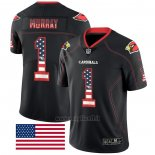 Maglia NFL Limited Arizona Cardinals Murry Rush USA Flag Nero