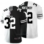 Maglia NFL Limited Chicago Bears Montgomery White Black Split