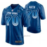 Maglia NFL Limited Dallas Cowboys Zack Martin 2019 Pro Bowl Blu