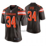 Maglia NFL Game Cleveland Browns Carlos Hyde Marronee