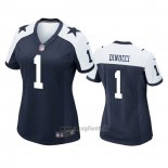 Maglia NFL Game Donna Dallas Cowboys Ben Dinucci Alternato Blu