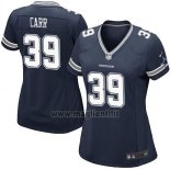 Maglia NFL Game Donna Dallas Cowboys Carr Blu