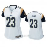 Maglia NFL Game Donna Los Angles Rams Cam Akers Bianco