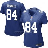Maglia NFL Game Donna New York Giants Donnell Blu