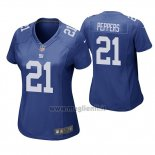 Maglia NFL Game Donna New York Giants Jabrill Peppers Blu