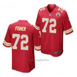 Maglia NFL Game Kansas City Chiefs Eric Fisher Rosso