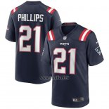 Maglia NFL Game New England Patriots Adrian Phillips Blu
