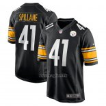 Maglia NFL Game Pittsburgh Steelers Robert Spillane Nero