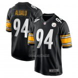 Maglia NFL Game Pittsburgh Steelers Tyson Alualu Nero