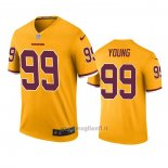Maglia NFL Legend Washington Redskins Chase Young Or Color Rush