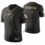 Maglia NFL Limited Arizona Cardinals Larry Fitzgerald Golden Edition Nero