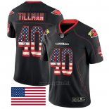 Maglia NFL Limited Arizona Cardinals Tillman Rush USA Flag Nero