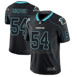 Maglia NFL Limited Carolina Panthers Shaq Thompson Nero Color Rush 2018 Lights Out