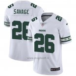 Maglia NFL Limited Green Bay Packers Savage Team Logo Fashion Bianco
