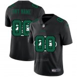 Maglia NFL Limited New York Jets Personalizzate Logo Dual Overlap Nero
