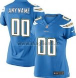 Maglia NFL Donna Los Angeles Chargers Personalizzate Blu