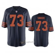 Maglia NFL Game Chicago Bears Lachavious Simmons Throwback Blu