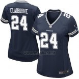 Maglia NFL Game Donna Dallas Cowboys Claiborne Blu