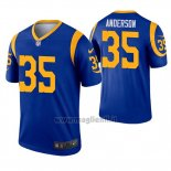 Maglia NFL Game Los Angles Rams 35 C.j. Anderson Blu