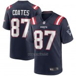 Maglia NFL Game New England Patriots Ben Coates Retired Blu