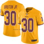 Maglia NFL Legend Washington Redskins Bruton JR Giallo