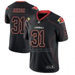 Maglia NFL Limited Arizona Cardinals David Johnson Nero Color Rush 2018 Lights Out
