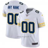 Maglia NFL Limited Los Angeles Chargers Personalizzate Team Logo Fashion Bianco