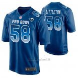 Maglia NFL Limited Los Angles Rams Cory Littleton 2019 Pro Bowl Blu