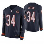 Maglia NFL Therma Manica Lunga Chicago Bears Walter Payton Blu