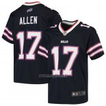Maglia NFL Game Bambino Buffalo Bills Josh Allen Inverted Blu
