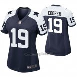 Maglia NFL Game Donna Dallas Cowboys Amari Coope Throwback Blu